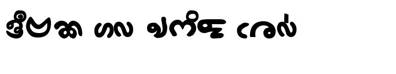 Preview of BijoyChangmaMJ Bold
