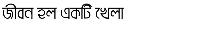 Preview of BrahmaputraMJ Regular