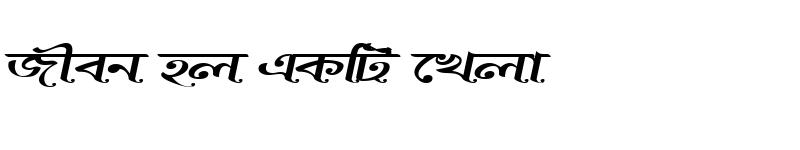 Preview of BurigangaSushreeMJ Italic
