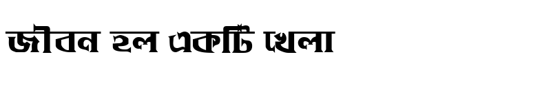 Preview of DhakarchithiMJ Bold