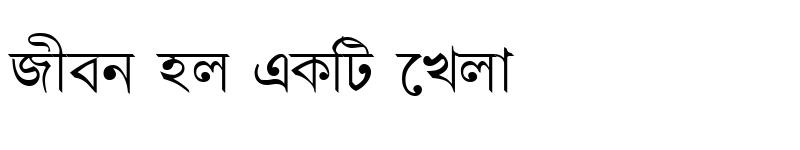 Preview of DhanshirhiMJ Regular