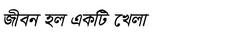 Preview of JaJaDiMJ Bold Italic