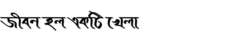 Preview of KopotakshaMJ Bold