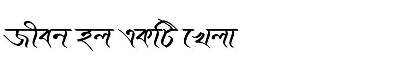 Preview of KopotakshaMJ Italic