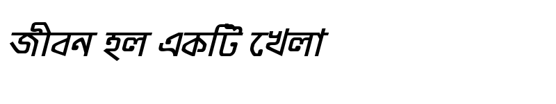 Preview of ModhumatiMJ Bold Italic