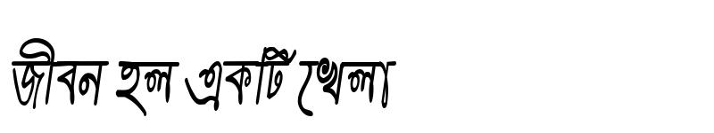 Preview of PandulipiCMJ Italic
