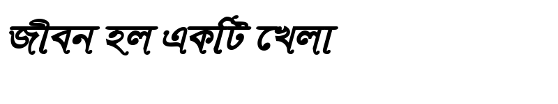 Preview of RinkiySushreeMJ Bold Italic