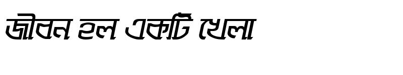 Preview of SugondhaMJ Bold Italic
